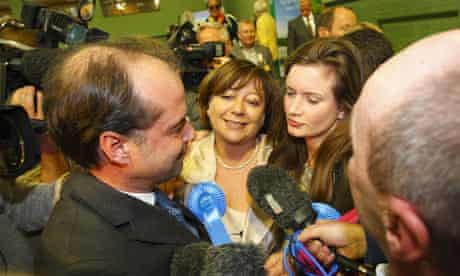 Maria Hutchings after the Eastleigh poll
