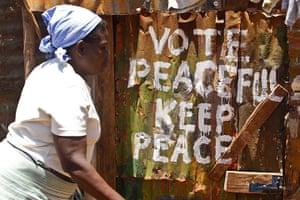 kenya elections: Kibera