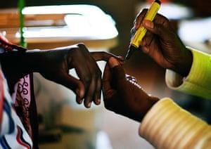 kenya elections: voting in Ilngarooj