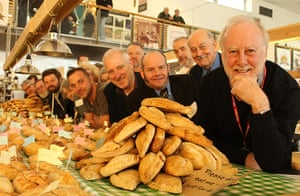 Pasty championships: The judges