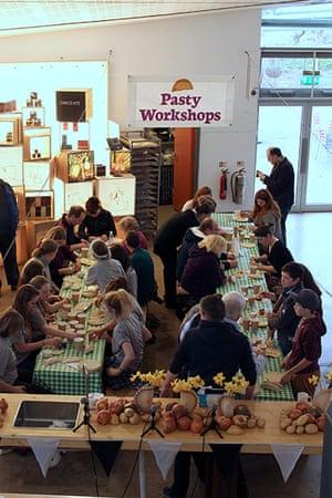 Pasty championships: Pasty workshops