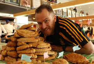 Pasty championships: Kernow King with pasties