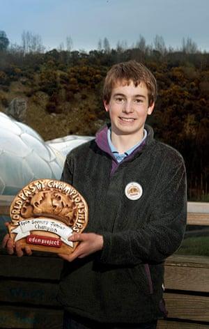 Pasty championships: Henry Cornish