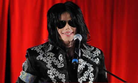 Michael Jackson in London, March 2009, announcing the This Is It concerts