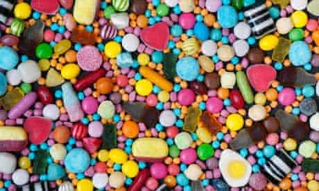 Colourful assorted sweets