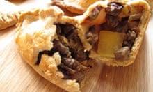 Mark Hix's Cornish pasty.