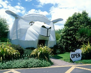 Buildings gallery: The Big Sheep wool gallery in Waikato, New Zealand