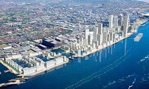 Liverpool Waters masterplan