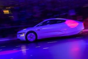 Geneva motor show: A new Volkswagen hybrid XL1 model car
