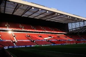 United v Real: Old Trafford ahead of Manchester United v Real Madrid