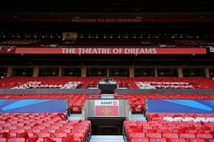 United v Real: The North stand awaits thousands of fans