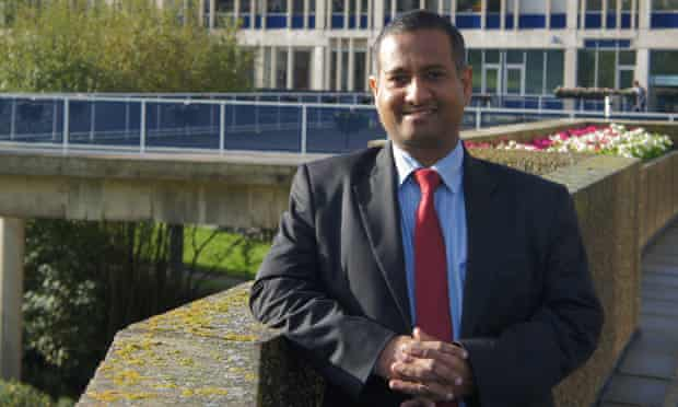 Former Maldives foreign minister, Ahmed Shaheed, who is the UN special rapporteur on the situation of human rights in Iran.
