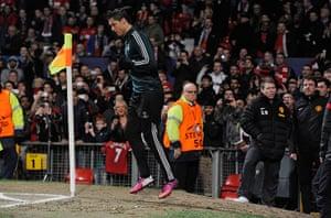 Utd v Real: Cristiano Ronaldo
