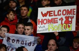 Utd v Real: Manchester United fans