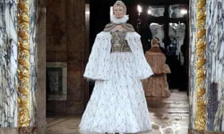 Sarah Burton for Alexander McQueen in Paris