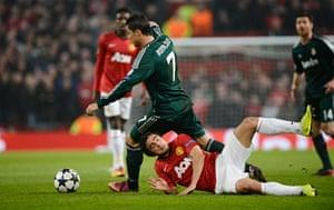 United v Real Madrid 2: Rafael and Ronaldo