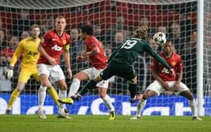 United v Real Madrid 2: Modric scores the equaliser