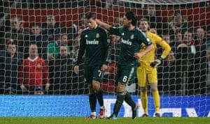Man Utd v Real Madrid: Ronaldo scores