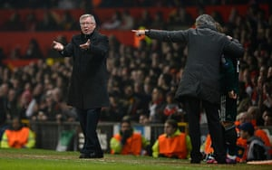 Man Utd v Real Madrid: Fergie appeals for extra support from the crowd