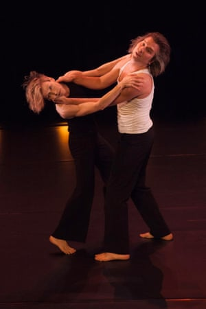 Dance icons Louise Lecavalier and Patrick Lamothe perform Children/A Few Minutes of Lock at the Space theatre
