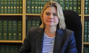 International development secretary Justine Greening