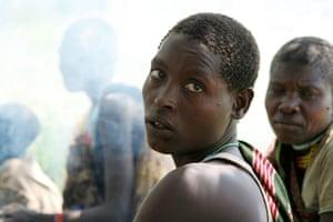 Hadza women of east Africa