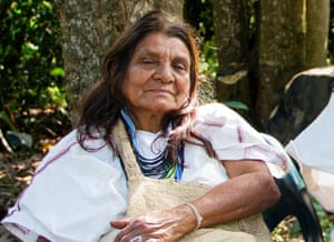 Dilia Torres of the Arhuaco in Colombia