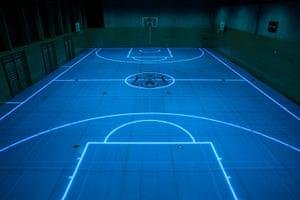 Beautiful Games: Illuminated flooring