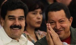Chavez with Maduro