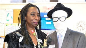 World Book Day: Invisible man Deptford Green