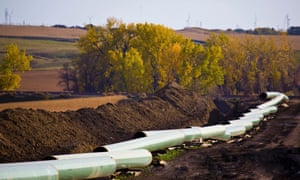The Keystone Oil Pipeline is pictured under construction in North Dakota in this undated photograph. The U.S. State Department issued a long-awaited draft environmental assessment of the Keystone XL pipeline project that would link Canada's oil sands to refineries in Texas, March 1, 2013.  REUTERS/TransCanada Corporation/Handout (UNITED STATES - Tags: ENERGY POLITICS ENVIRONMENT) FOR EDITORIAL USE ONLY. NOT FOR SALE FOR MARKETING OR ADVERTISING CAMPAIGNS. THIS IMAGE HAS BEEN SUPPLIED BY A THIRD PARTY. IT IS DISTRIBUTED, EXACTLY AS RECEIVED BY REUTERS, AS A SERVICE TO CLIENTS. NO THIRD PARTY SALES. NOT FOR USE BY REUTERS THIRD PARTY DISTRIBUTORS :rel:d:bm:WM1E81I0YVQ01