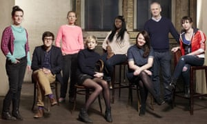 Dominic Cooke and Royal Court playwrights