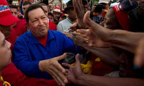 TOPSHOTS  Venezuelan President Hugo Chav