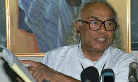 Father Tissa Balasuriya in 1997.