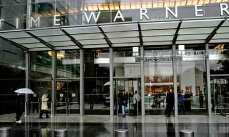 Time Warner building in New York