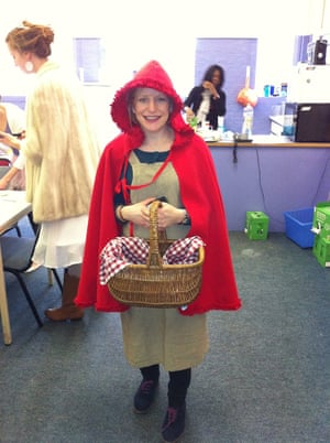 World book day 2013 teachers get into character to inspire their emma bilsdon solutioingenieria Images