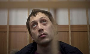 Pavel Dmitrichenko is accused of masterminding the acid attack on Sergei Filin