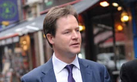 Nick Clegg leaving Capital FM Radio