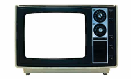 Retro TV set,  television set from the 1970s