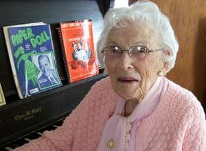 Old people: Bernice Madigan