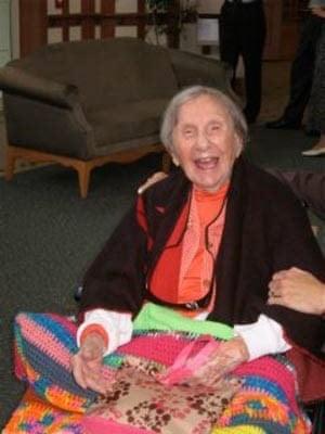 Old people: Evelyn Kozak