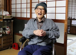 Old people: Jiroemon Kimura