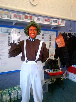 World book day 2013 teachers get into character to inspire their world book day dan callaghan solutioingenieria Images