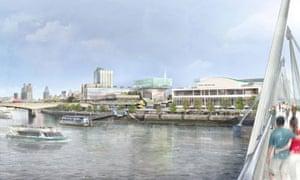 Design study of Southbank Centre