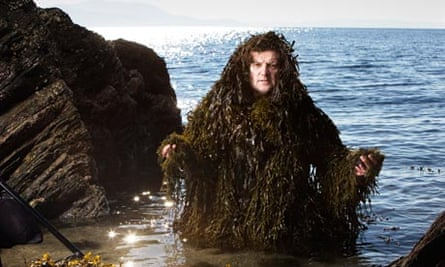 Iain McKellar, seaweed forager