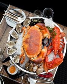 Crab Shack's Seafood Platter