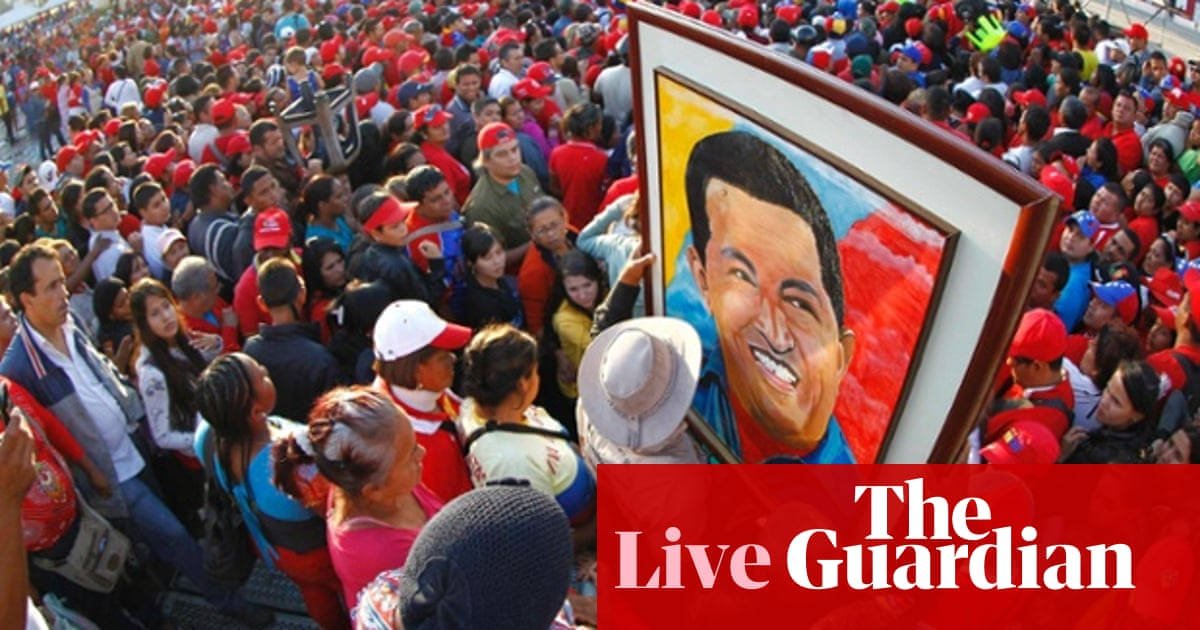 Hugo Chávez Funeral As It Happened Global The Guardian