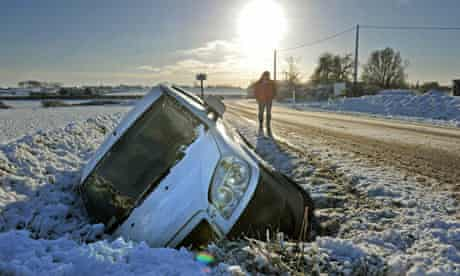 'What a cidiot!' A person who has spent so long in the city they crash in snow, for example.