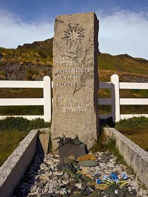 Readers' 10: Gravesite of Sir Ernest Shackelton