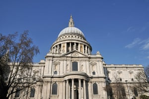 Readers' 10: St Paul's Cathedral, London UK with blue sky